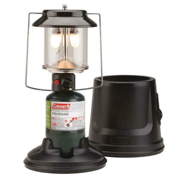 Coleman 2 Mantle Quickpack Propane Fuel Lantern with Case 810 Lumens $42.99
