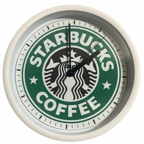Starbucks Coffee Wall Clock…