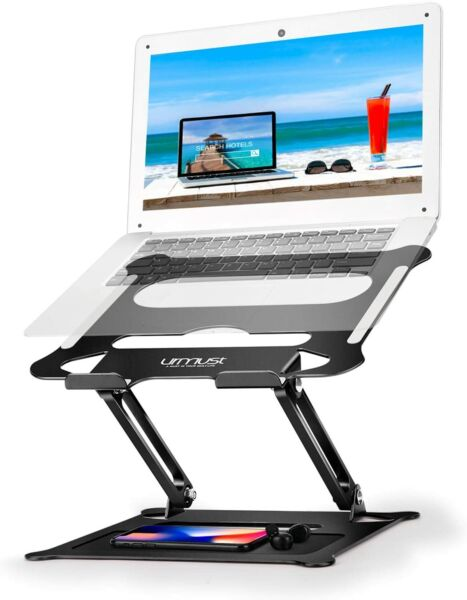 New Adjustable Foldable Laptop Notebook Tablet Riser Tray Holder Portable Stand $24.98