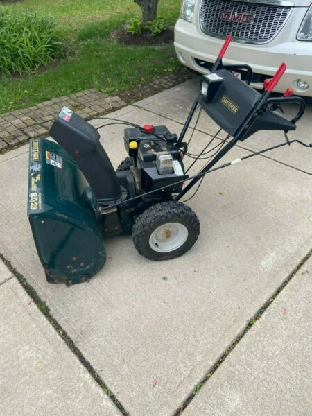 Craftsman SnowBlower: 9 HorsePower 28quot; Two Stage Wheel Drive Electric Pull Start