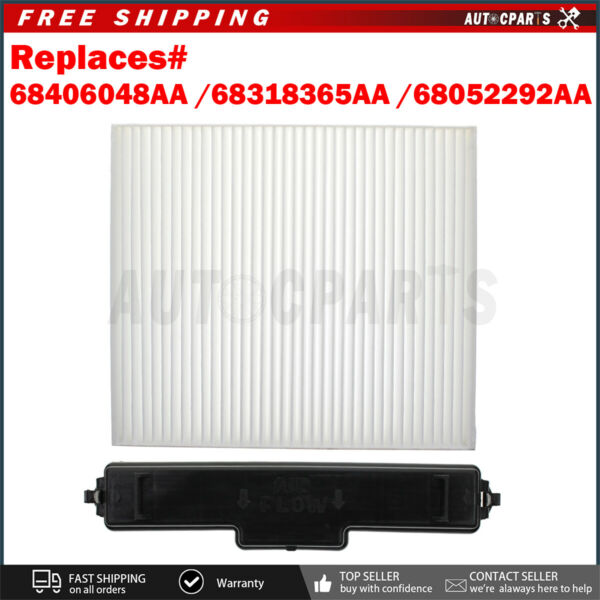Cabin Air Filter Package Fits 13A6191T2U99 Dodge Ram 1500 2500 3500 68406048AA $23.99