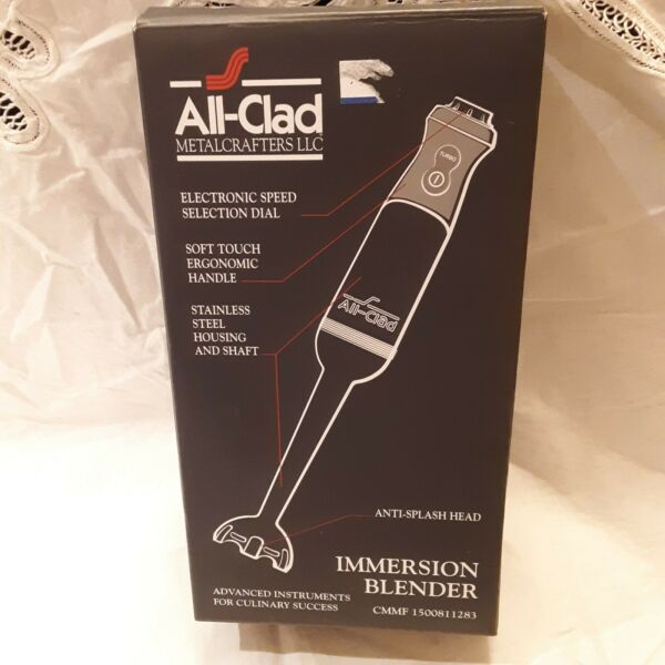 All Clad Immersion Blender KZ750D42 Brand New in Box $129.99