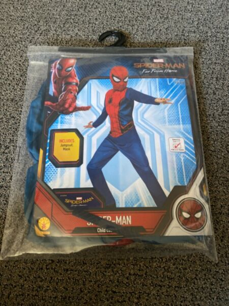 Rubies Marvel Spider Man Far From Home Child Costume Size Small 4 6