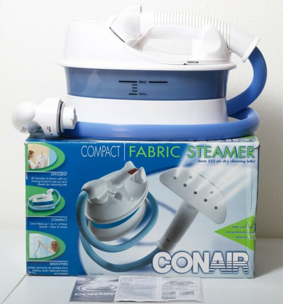 Handheld Fabric Steamer CONAIR GS4 Compact Portable