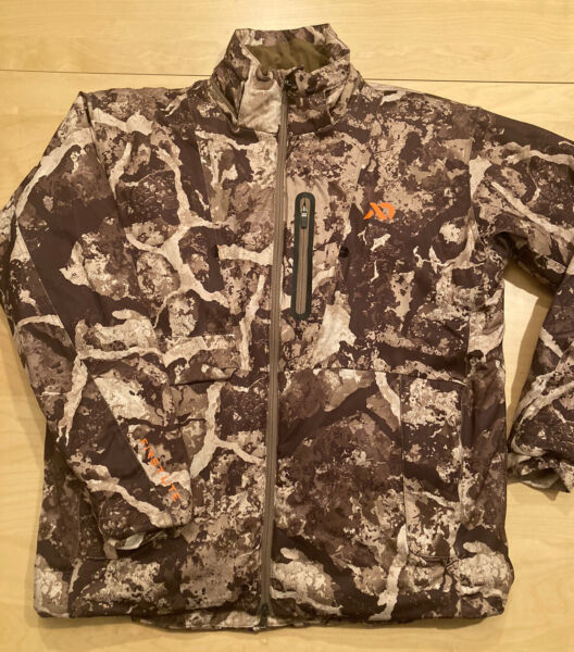 First Lite Woodbury Hunting Jacket Cipher Camouflage Large