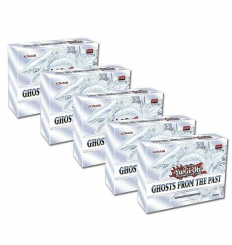 Yugioh Ghosts from the Past Sealed Display Box 5 MINI BOXES IN HAND
