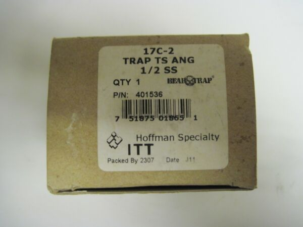 Hoffman Specialty 1 2quot; Thermostatic Stem Trap P N 401435 Boiler System $59.99