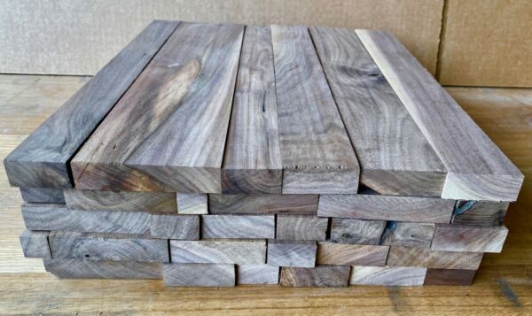 16quot; Long Full Box of Black Walnut Scrap Boards Craft Wood $32.88
