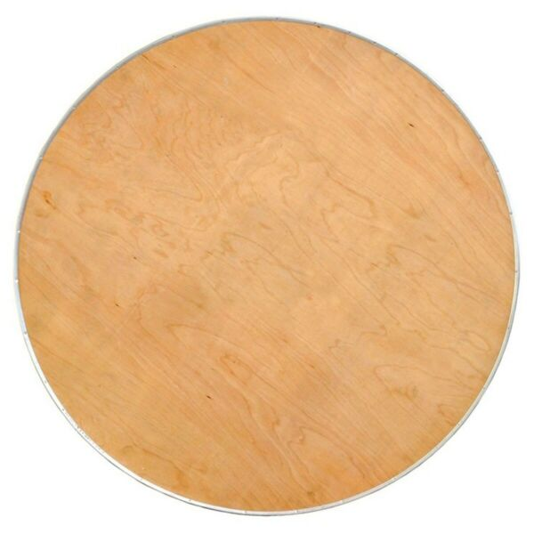 30quot; Round Cocktail Bistro Table Top Heavy Duty Birch Plywood With Steel Edge
