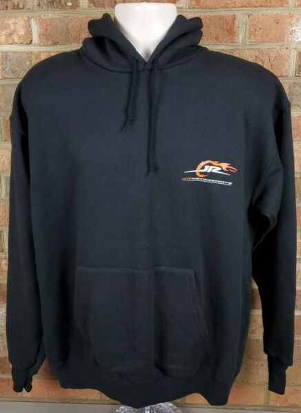 Dale Earnhardt Jr Motorsports Hoodie Sweatshirt Nascar Racing Mens Large NEW