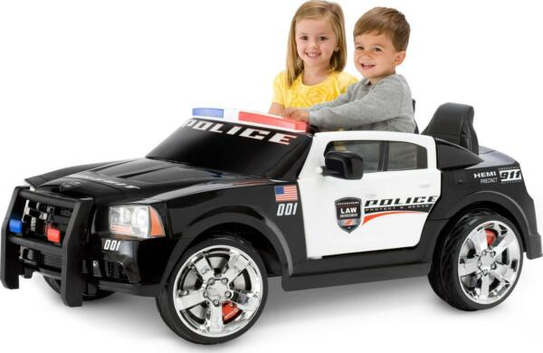 Kid Trax Dodge Pursuit Police Car 12 Volt Battery Powered Ride On $497.85