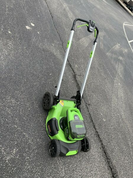 Greenworks 60V Brushless Cordless Electric Lawn Mower 21in Self Propelled $159.00
