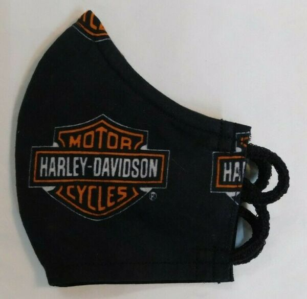 Fitted Face Mask. Harley Davidson. Won#x27;t collapse against face. $9.95