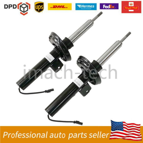 Pair Front Suspension Shock Strut w Electric For Cadillac XTS 84677093 $339.00