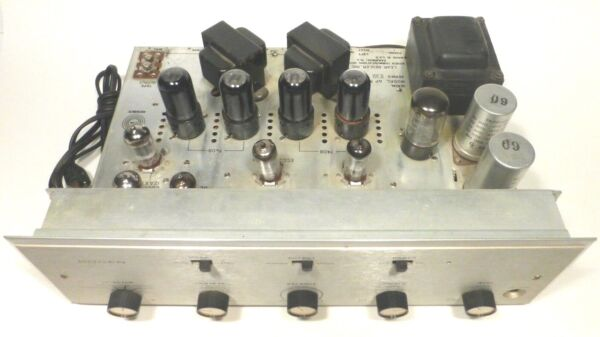 BOGEN AP 35 TEN fresh TUBE STEREO AMPLIFIER Tested Working GREAT SOUND