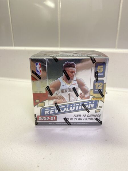 2020 21 Panini Revolution Chinese New Year Sealed Hobby Basketball Box Rare $315.00