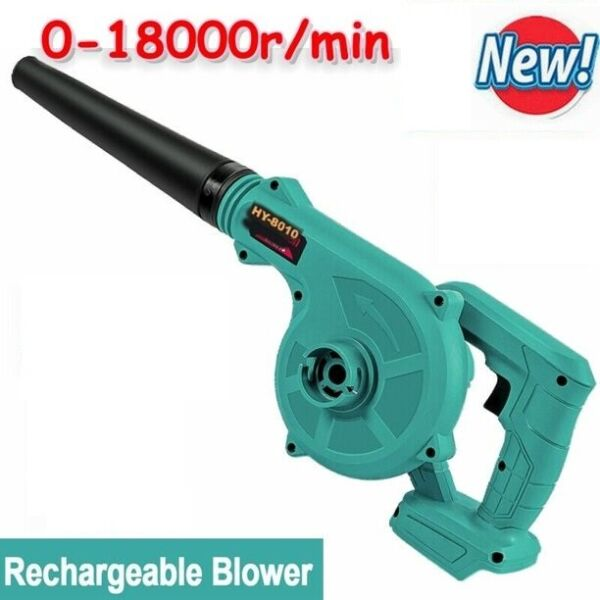 Cordless Leaf Blower Lightweight Hand Held Yard 18VLithium Ion Grass Trimmings