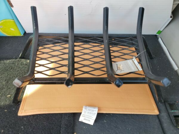 Fireplace Grate With Ember Retainer 18quot; Steel Bar NEW