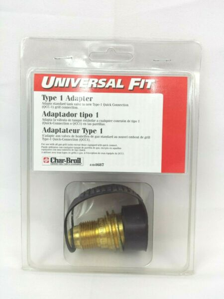 Char Broil Universal Fit Propane Tank Type 1 Adapter New
