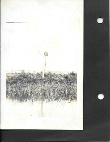 PORT CARLISLE OLD SIGNAL POST VINTAGE IMAGE # L374