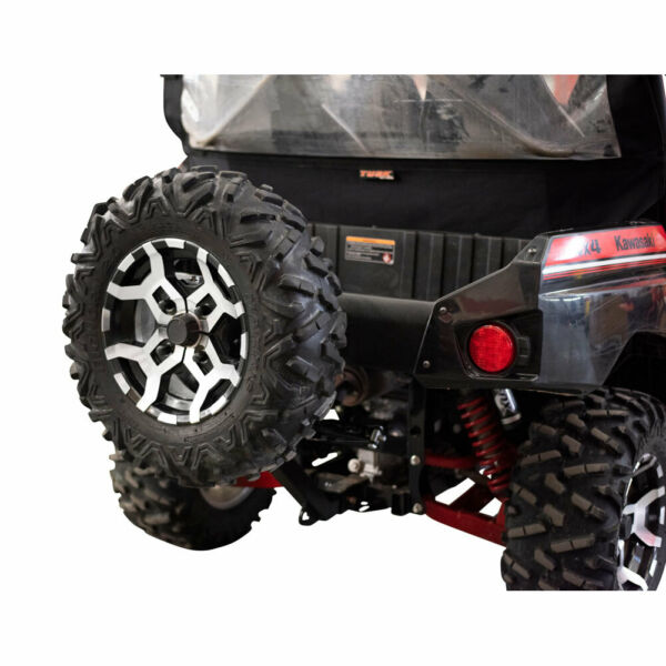 Tusk Hitch Mounted Spare Tire Carrier Fits: KAWASAKI Teryx4 800 2014 2021 $150.98