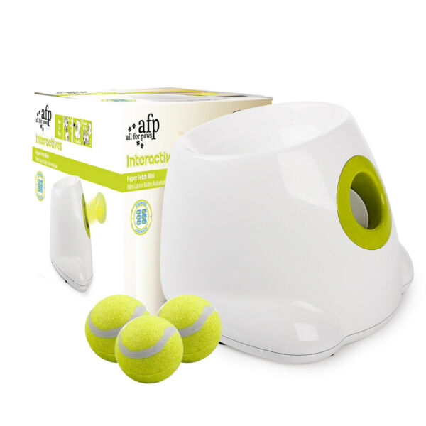 Automatic Dog Ball Launcher Tennis Ball Launcher Machine for Dogs Training $89.99