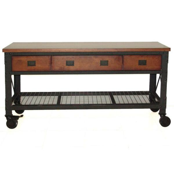 Duramax 72 in Rolling Workbench Furniture for Home Garage Workshop $699.00