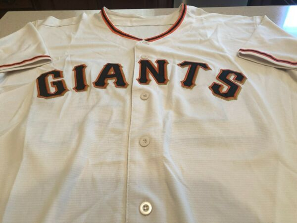 Majestic Authentic San Francisco Giants Willie Mays Jersey Mens XL