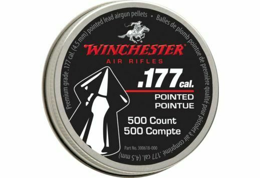 Winchester Air Rifle Pellets .177 Pointed Pellet 500 Count Tin mfg 987416 $12.27