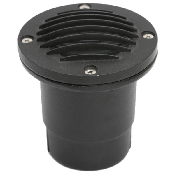 Cast Aluminum Low Voltage Round Grill LED In ground Well Light IP65 Waterproof