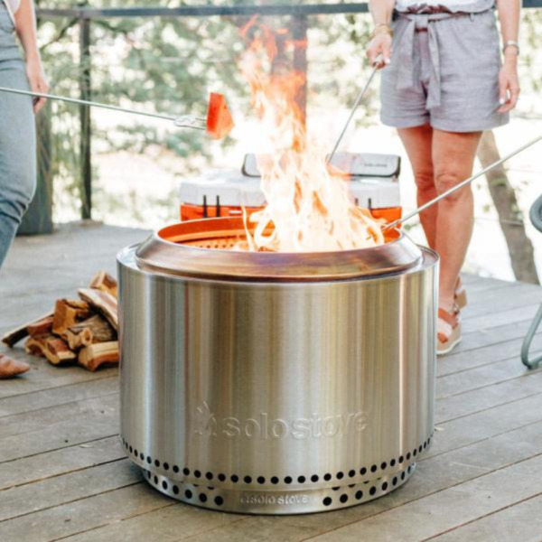 Round Wood Fire Pit Stove Flame Stand Backyard Bonfire Outdoor Patio Deck Heater $799.99