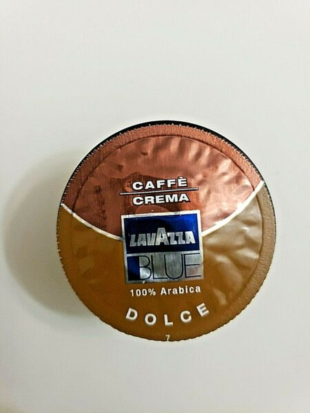 Lavazza Blue Capsules Caffe Crema Dolce Coffee Blend 98 Count Exp 04 30 2021