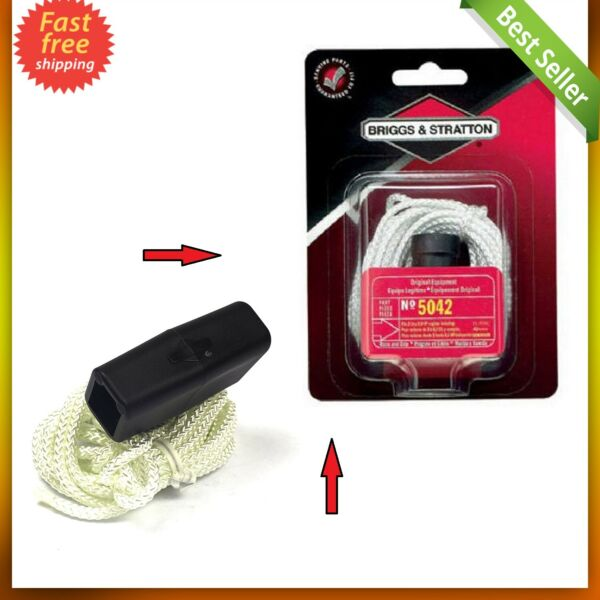 Starter Rope Pull String Cord Replacement for Toro Craftsman Honda Lawn Mower