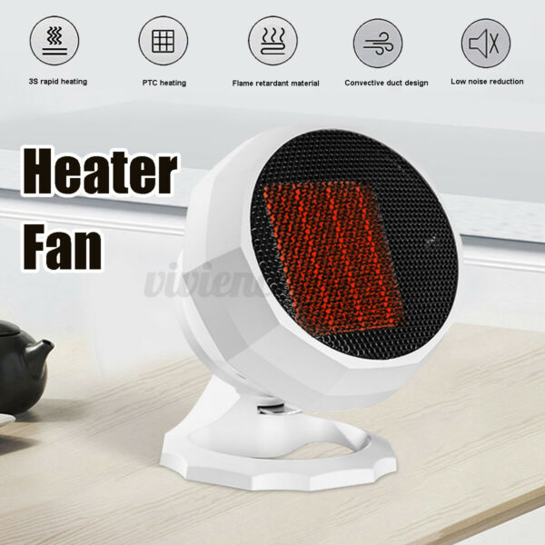 110 220V Portable Electric Home Heater Fan Heating Cooling Winter ❥ $52.50
