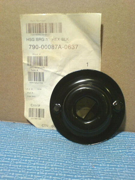CUB CADET SNOW THROWER AUGER BEARING HOUSING. 790 00087A 0637 NEW OEM PART L 21