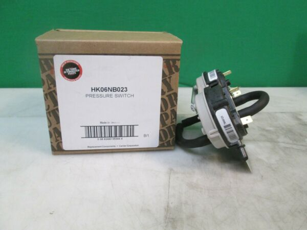 Carrier Bryant Honeywell Furnace 2 Stage Air Pressure Switch BA20123 HK06NB023 $89.99