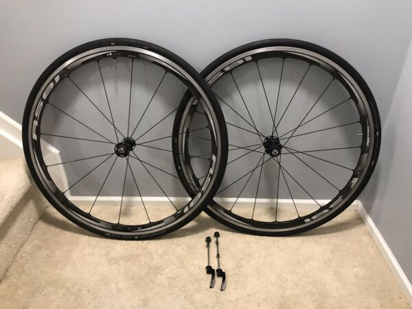 Shimano RS81 C35 11 speed carbon 700c tubeless wheelset with tires $625.00