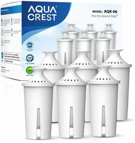 Pitcher Water Filter Replacement for Brita Filters