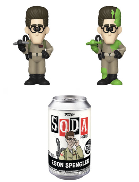 Funko Pop Vinyl Soda: Ghostbusters Egon Spengler SEALED Chance at Chase