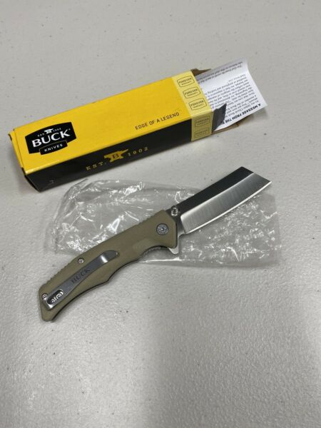 BUCK Model 252 Trunk knife Open Box Free Shipping