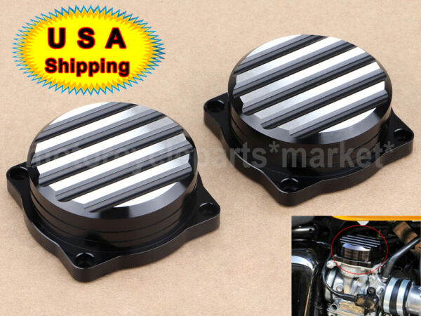 Injection Carburetor Cover Lid CNC Carb Tops Fit For Triumph Thruxton 900 08 15 $24.98