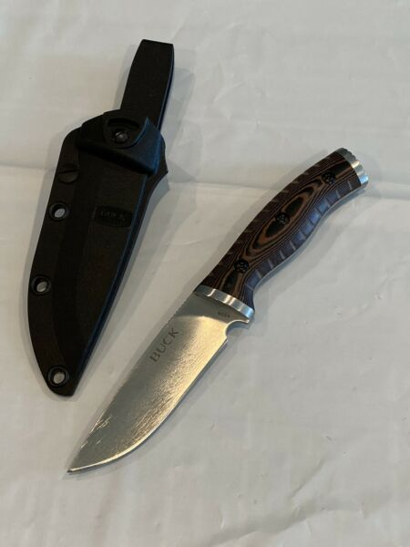 Buck Knives 853 Small Selkirk Fixed Blade Knife Slightly Used Free Shipping