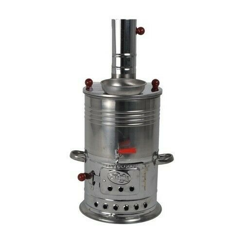 Samovar Tea Kettle Charcoal and Wood Water Heater Boiler for Camp Picnic $68.33