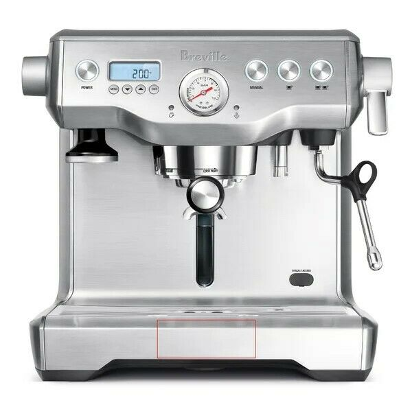 Breville BES920XL Dual Boiler Espresso Machine Brushed Stainless Steel