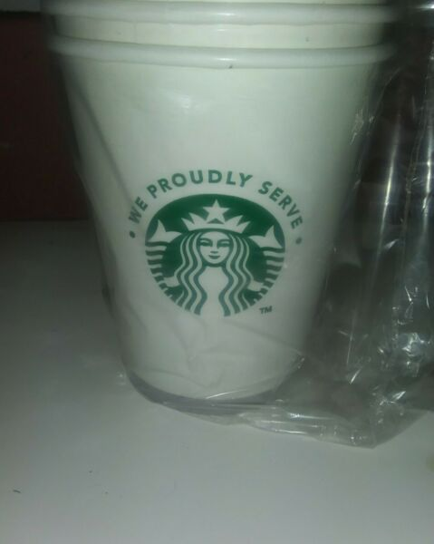 Starbucks Disposable 12 Ounce Cups Hot Coffee Party 50 ct