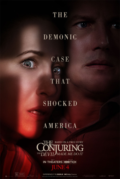 The Conjuring 3: The Devil Made Me Do It DVD 2021 Pre Order Patrick Wilson $17.88