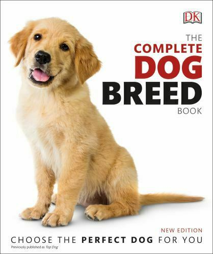 The Complete Dog Breed Book New Edition DK LikeNew $8.96