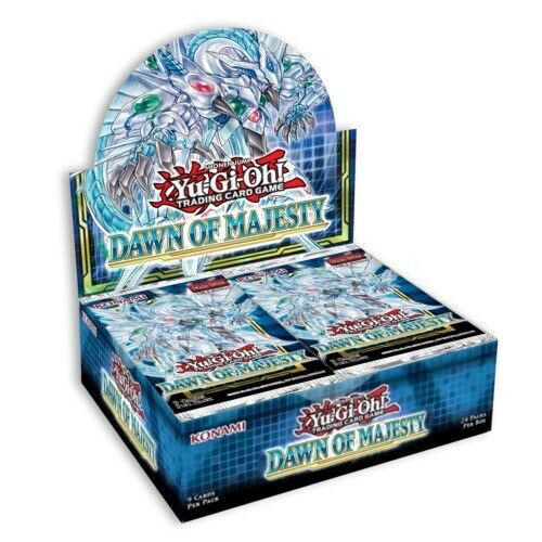 Yugioh Dawn of Majesty 1st Edition Booster Box New Factory Sealed SHIPS 8 12