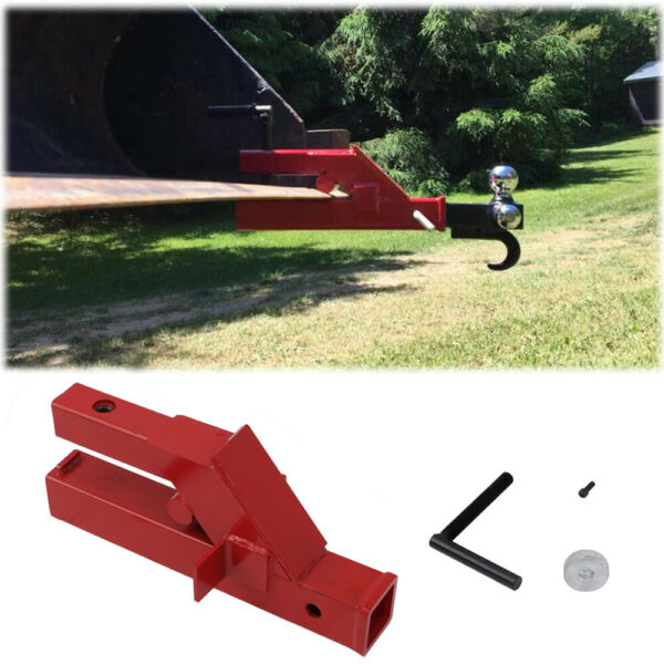 For Deere Bobcat Tractor Bucket Clamp On Trailer Hitch 2quot; Ball Mount Receiver $61.66
