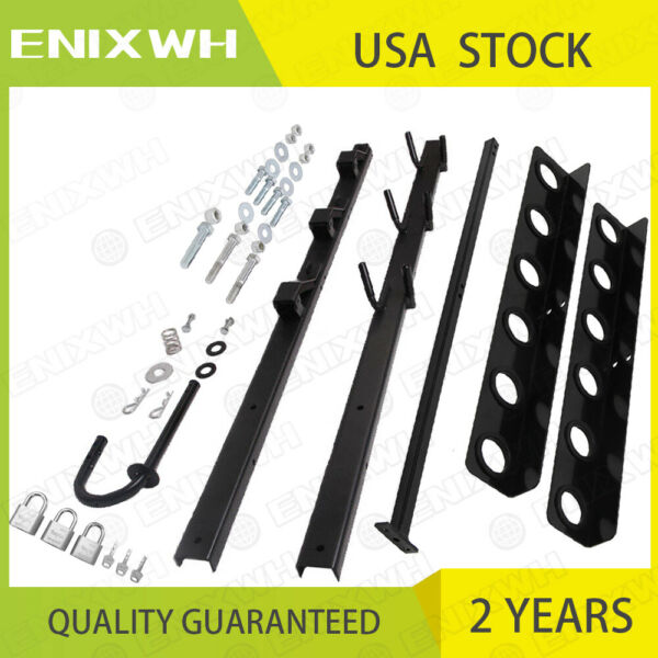 3 Place Weedeater Trimmer Racks and 6 Tool Landscape for Truck amp; Trailer Rack $55.99